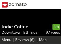 Indie Coffee on Urbanspoon