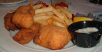 Huge, blurry fish fry