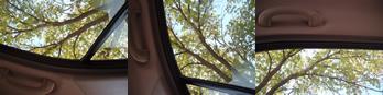 Car interior day