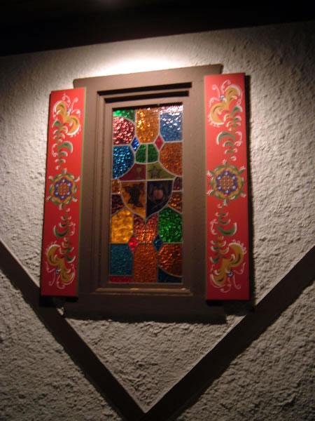 Dorf Haus window