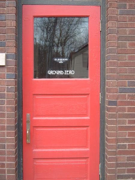 Door to Eldorado Grill