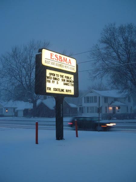ESBMA sign